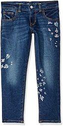Очень красивые джинсы Gymboree синие с рисунком 10р 134-140 р оригинал