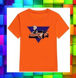 Футболка оранжевая мерч Влада А4 футболка ламба гелик