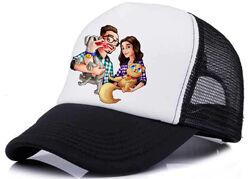 Кепка Эдисон перец кепки с блогером EdisonPts бейсболка цвета тракер