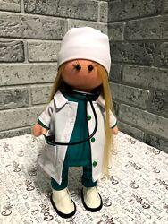 Кукла ручной работы доктор