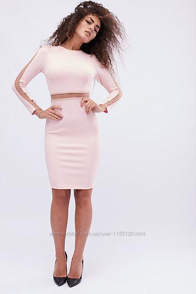Облегающее платье длины миди