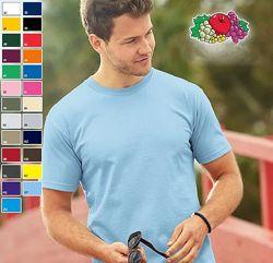 Мужские футболки. Большой выбор цвета. Размеры от S до XXL.