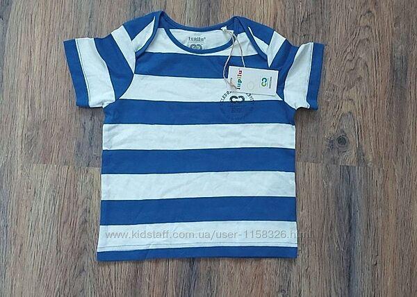 футболка для мальчика lupilu германия р. 86-92. с бирками в упаковке можн