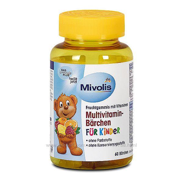 Желейные витамины детские Das gesunde Plus Multivitamin-Brchen fur kinder