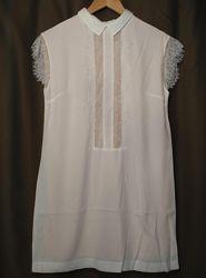 Платье блузка женское нарядное очень нежное бренд BeFree р. 36 -S