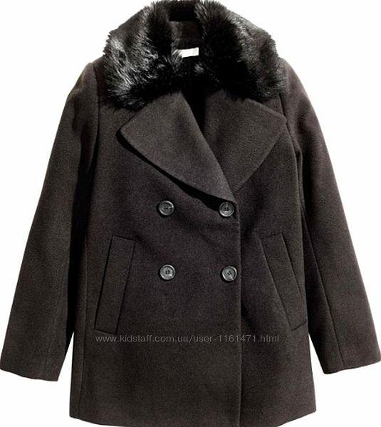 Распродажа Пальто женское демисезонное бренд H&M Швеция р. 36-S