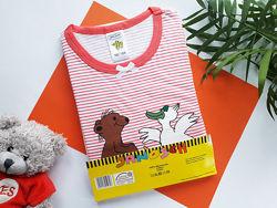 Ночная рубашка для девочки хлопок р.98-104 Германия