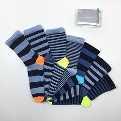 Набор 7 пар носки детские комплект Неделька на мальчика р. 27/30 бренд C&A