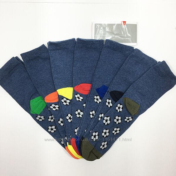 Набор 7 пар носки детские комплект Неделька на мальчика р.34/36 бренд C&A