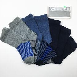 Набор 7 пар носки детские комплект Неделька на мальчика р.24/26 бренд C&A