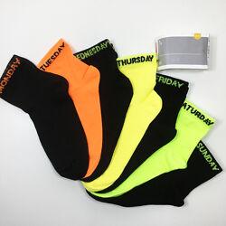 Набор 7 пар носки детские комплект Неделька на мальчика р.31/33 бренд C&A
