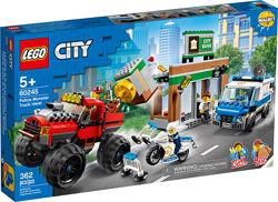 Конструктор LEGO City 60245 Ограбление полицейского Монстр-трака