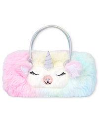 Childrens place новая сумочка Единорог футляр для очков для принцессы