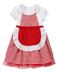 Новый новогодний костюм платье Красной шапочки Gymboree 3-4 года карнавал