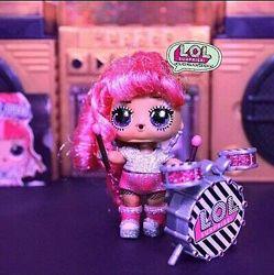 Кукла LOL Remix Stix Queen золотая редкая ЛОЛ ремикс Стикс Квин