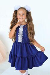 Школьное платье сарафан от производителя в ассортименте 116-152