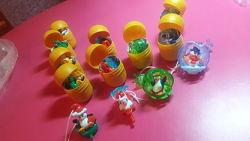 Киндер новогодние игрушки