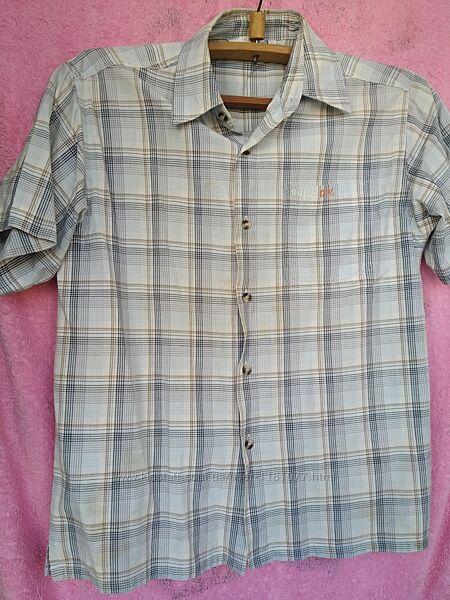 Рубашка с короткими рукавами, хлопок