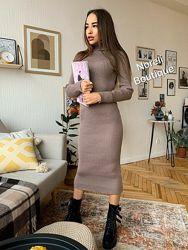 Женское базовое платье Ирис