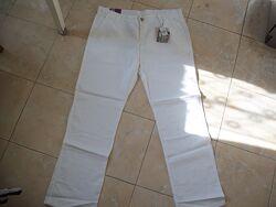 Белые льняные брюки Danim CO W36Х34