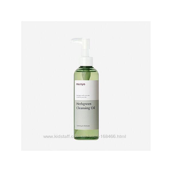 Гидрофильное масло сэкстрактами трав Manyo Factory Herb Green Cleansing Oil