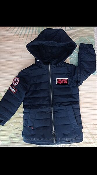 Курточки детские демисезонные для мальчика ТМ Grace Венгрия.