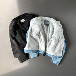 Куртка джинсовая мужская на меху Alpha Nation