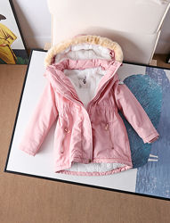 Куртка парка детская для девочек