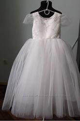 Нарядное платье, зима, снежинка