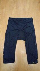 Вело бриджи шорты вело штаны капри Crivit размера