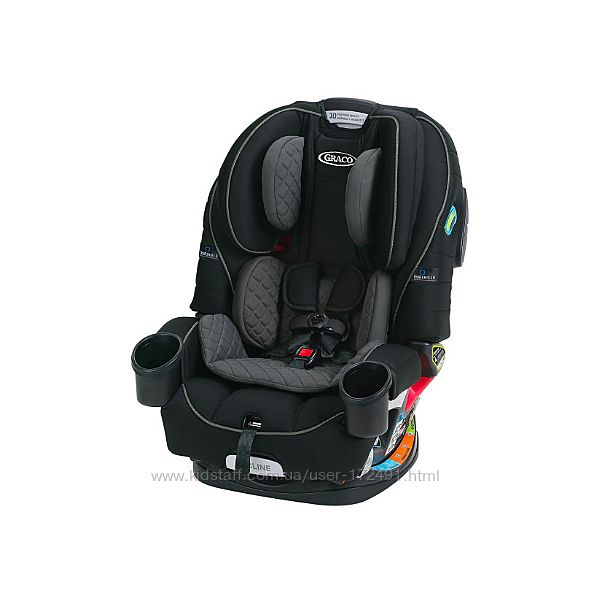 Автокрісло Graco 4EVER 4-IN-1 Shield Ion 8AH200ION3