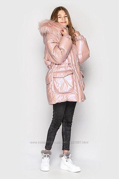 Зимняя куртка ясмин 3 - тм cvetkov - 128-164