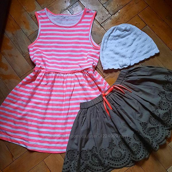 Пакет одежды на девочку 4-5 лет