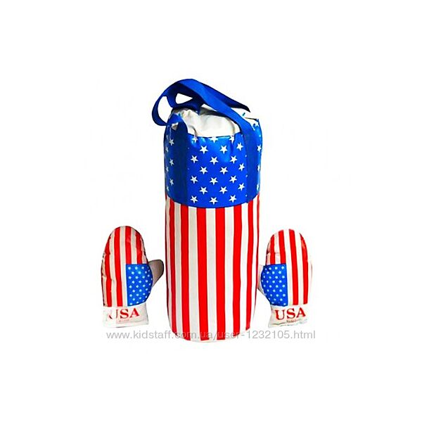 Боксерский набор Америка большой и маленький