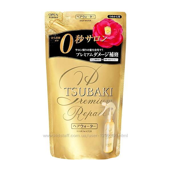 Tsubaki Hair Water Спрей для термозащиты и восстановления 220 мл, запаска