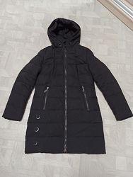 Пальто пуховик, зима