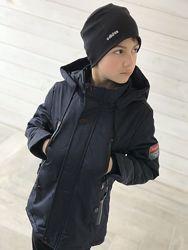 Демисезонная куртка мальчику, рост 122см