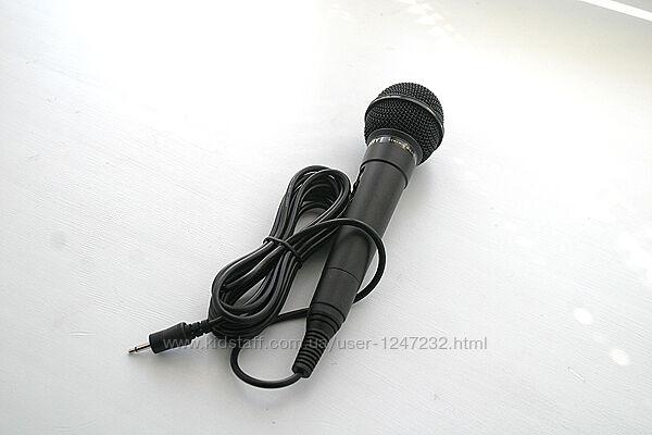 Микрофон для караоке Sony оригинал проводной черный новый impedance 750