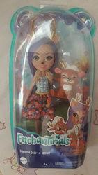 Новая кукла Enchantimals Денисса с олененком 15 см Индонезия оригинал