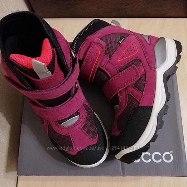 Сапоги, ботинки Ecco Snow Mountain на Gore-Tex 32р.