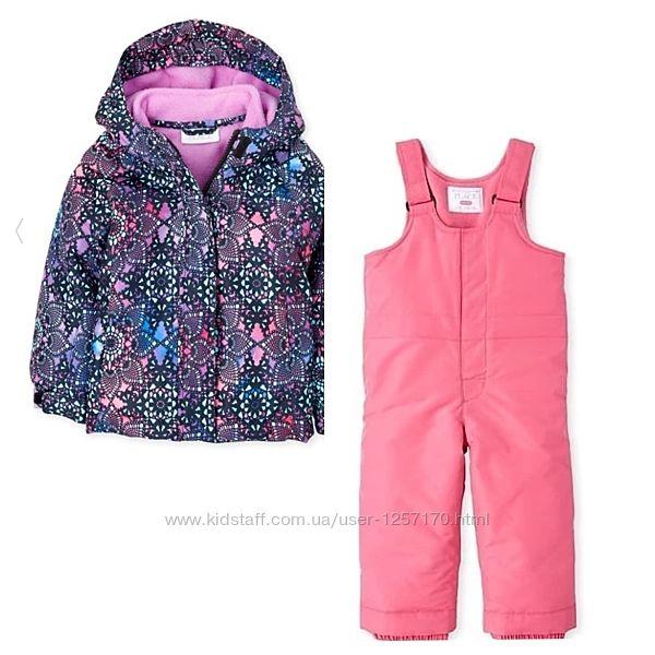 Зимний комплект The Children&acutes Place для девочки 3-4 года