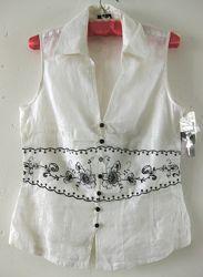 Блуза Fusion лён размер L.
