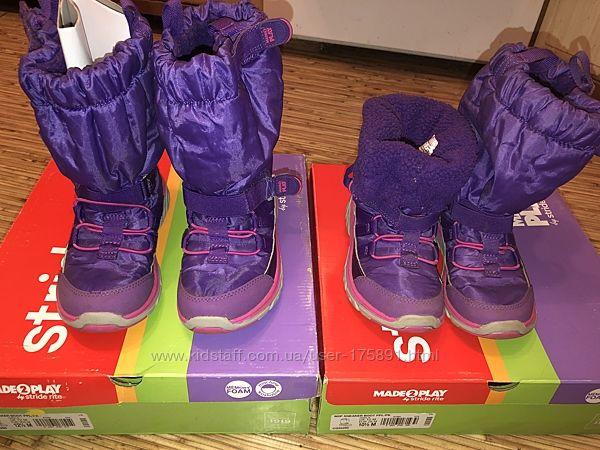 Stride rite зимние ботинки