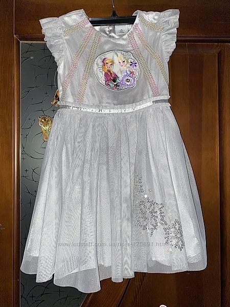 Платье Эльзы 5-8