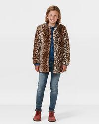 Стильная шубка Zara, 7-9 лет.