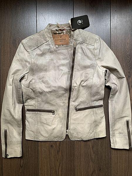 Кожаная куртка косуха goosecraft размер м