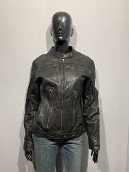 Кожаная куртка pepe jeans размер l