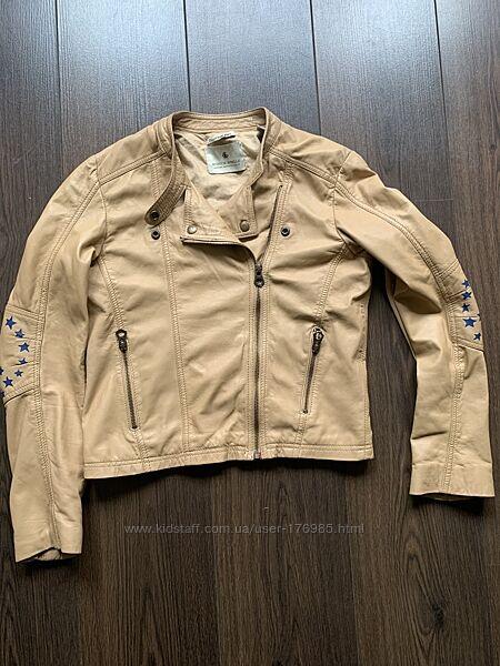 Кожаная куртка skotch & soda 14 лет