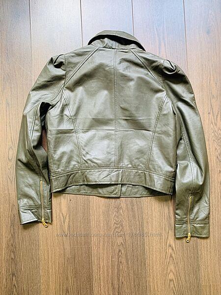 Кожаная куртка paul smith  размер l