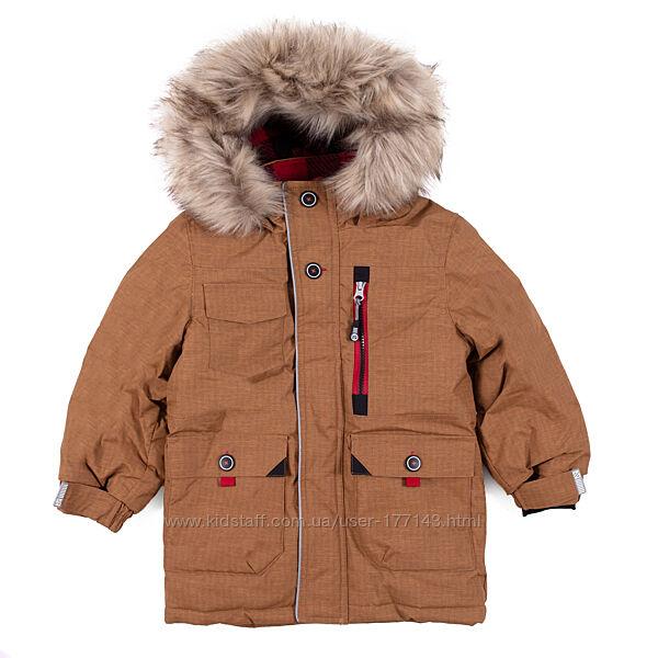 Зимняя парка для мальчика NANO, Канада. Размеры 92 - 152